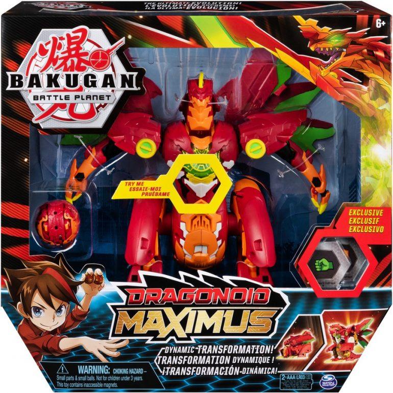 Bakugan Dragonoid Maximus And Dragonoid