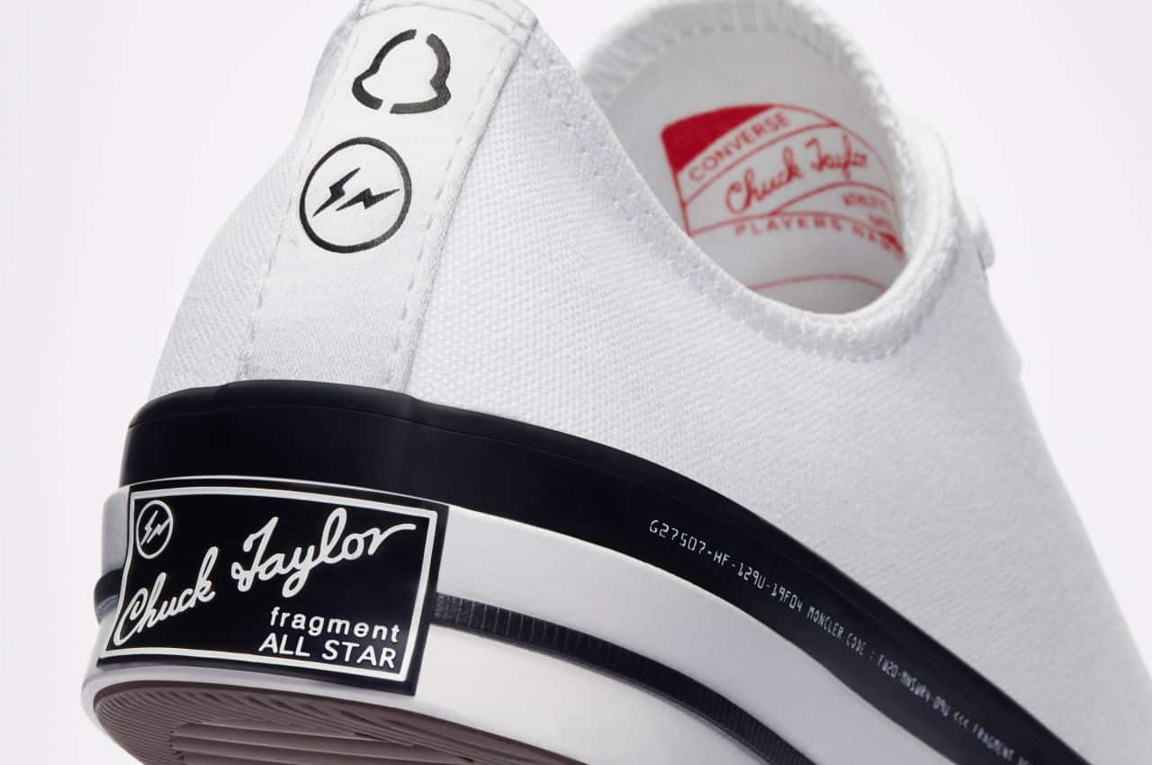 Converse X Moncler X Fragment Combines Art and Sophistication