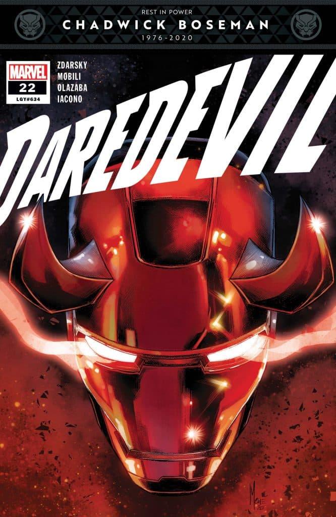 Daredevil #22 Iron Man Suit