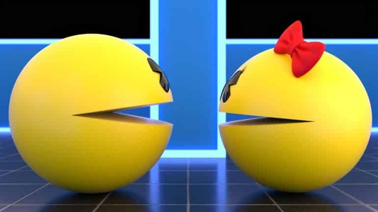 Pac-Man and Ms. Pac-Man