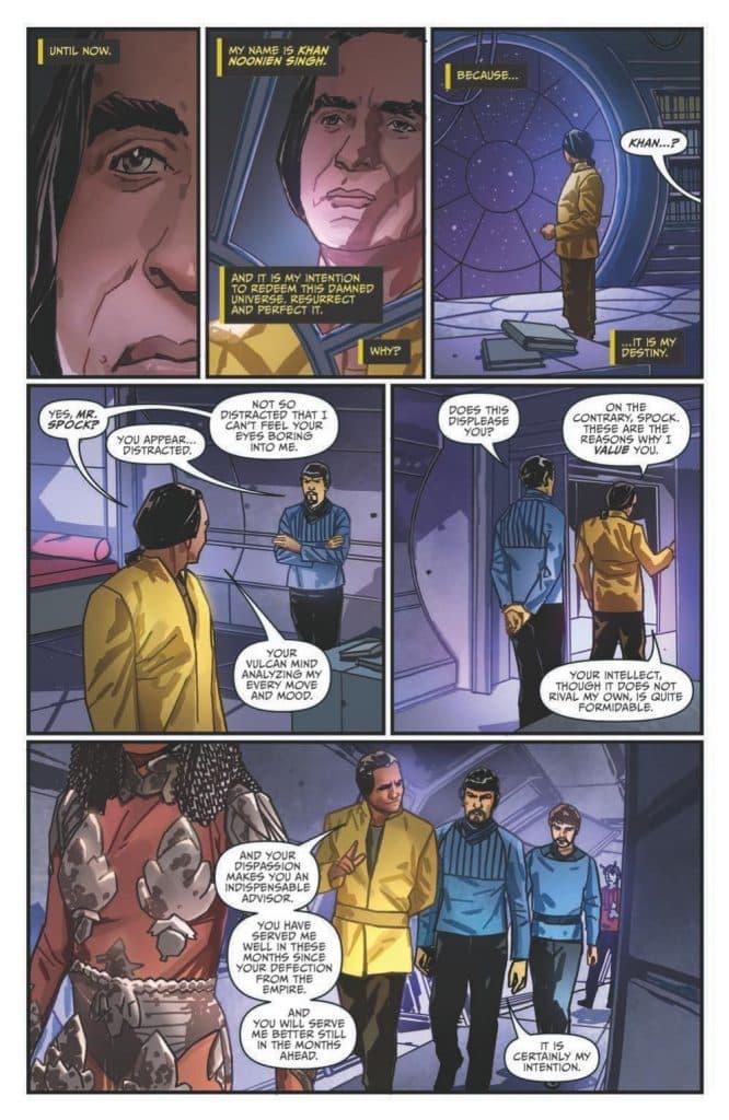Star Trek - Hells Mirror - comic