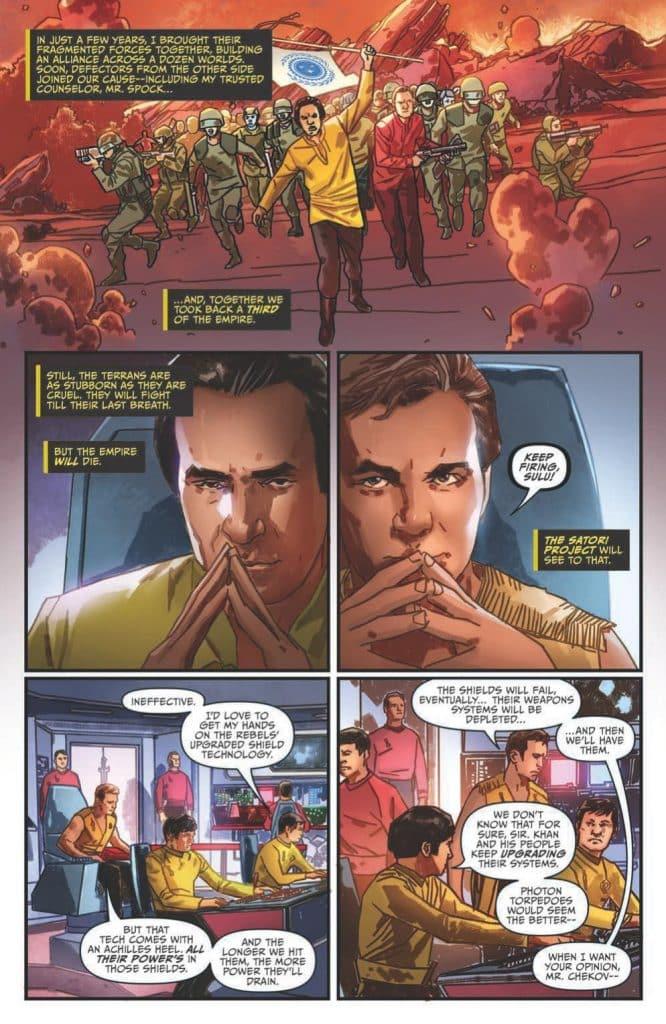 Star Trek - Hells Mirror comic book