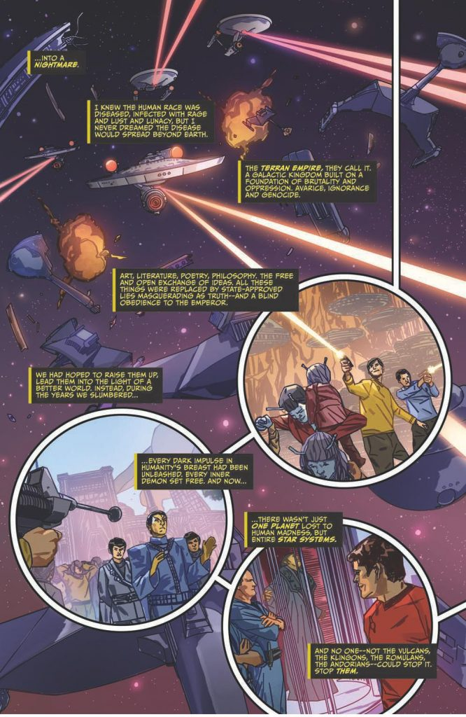 Star Trek Hell's Mirror comic book