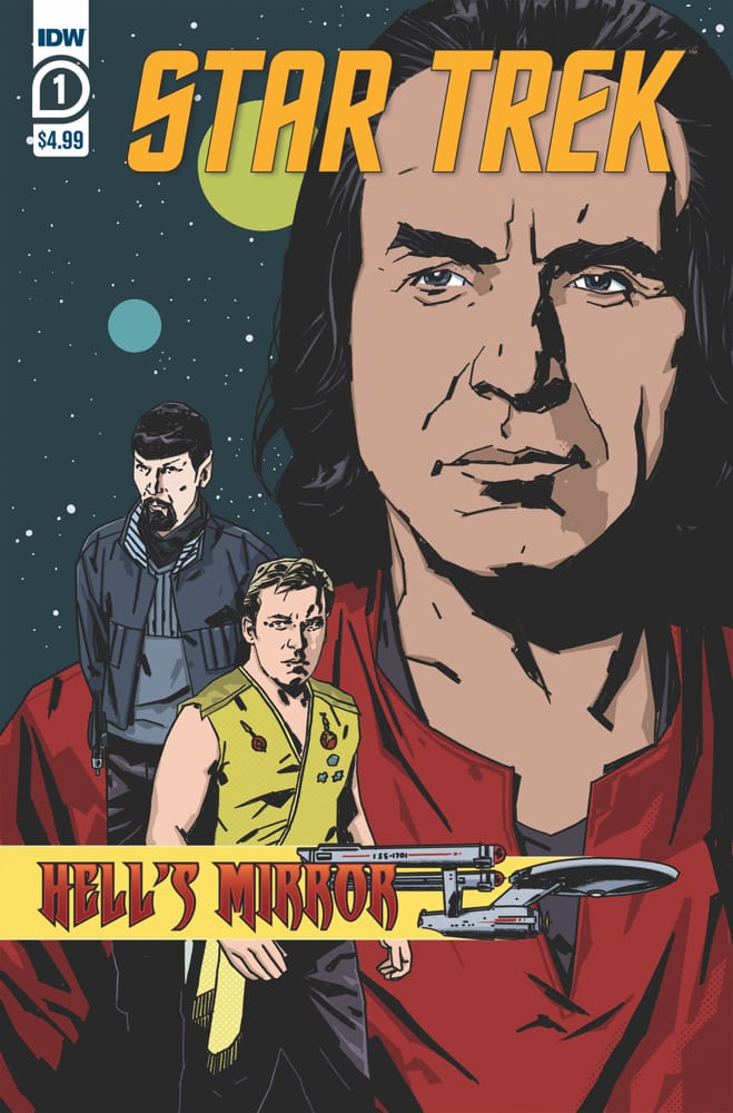 Star Trek: Hell's Mirror comic book cover
