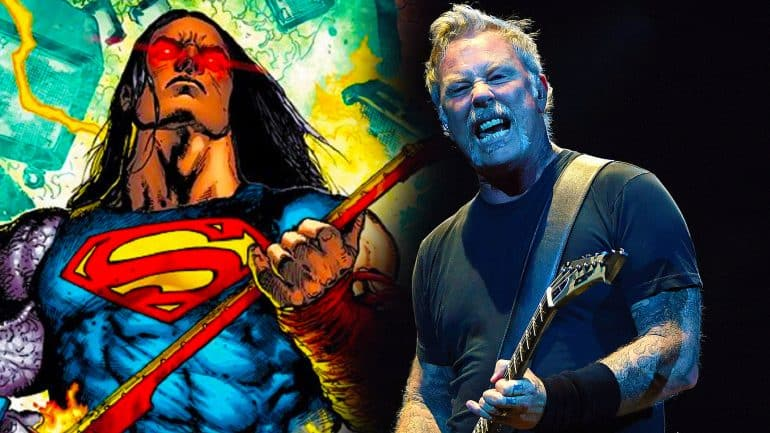 Superman – James Hetfield (Metallica)