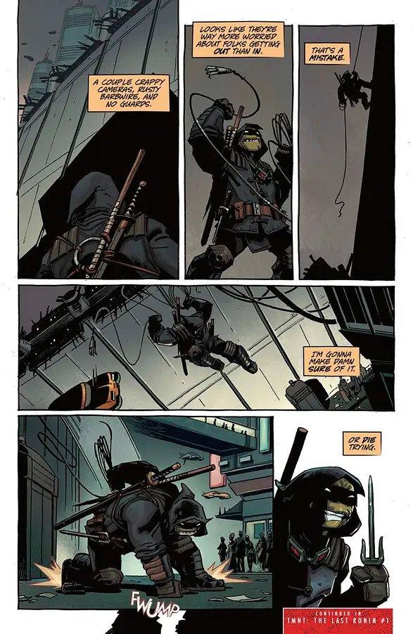 Teenage Mutant Ninja Turtles The Last Ronin