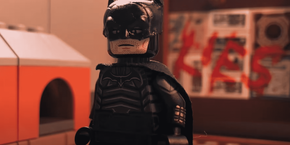 The Batman Trailer Gets a LEGO Makeover