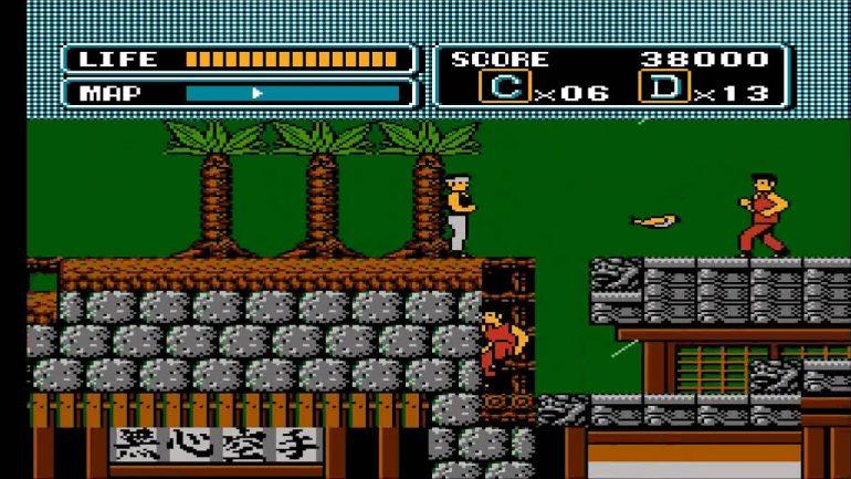 The Karate Kid 1987 Game