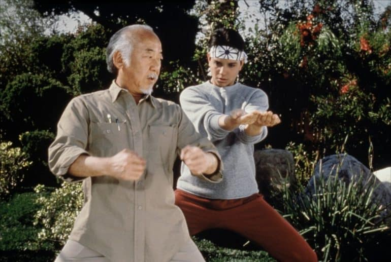 The Karate Kid Pat Morita Had A Crazy Idea For A Fifth Movie