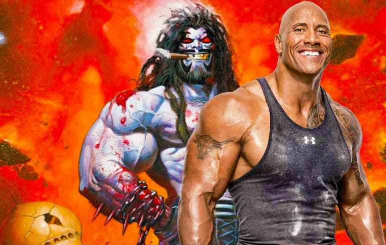 The Rock as Live-Action Lobo