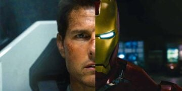 Tom Cruise as Iron Man Marvel MCU