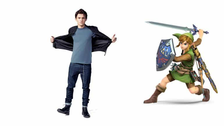 Tom Holland as Link in Zelda