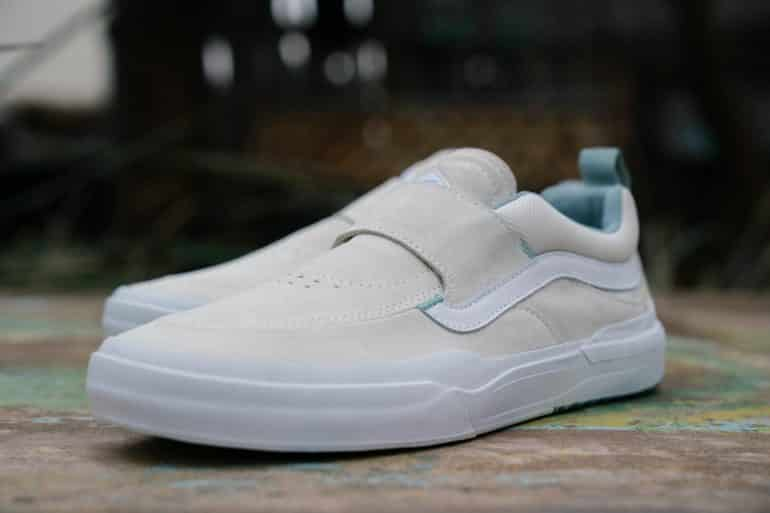 The Vans Kyle Walker Pro 2 skate shoe from the front