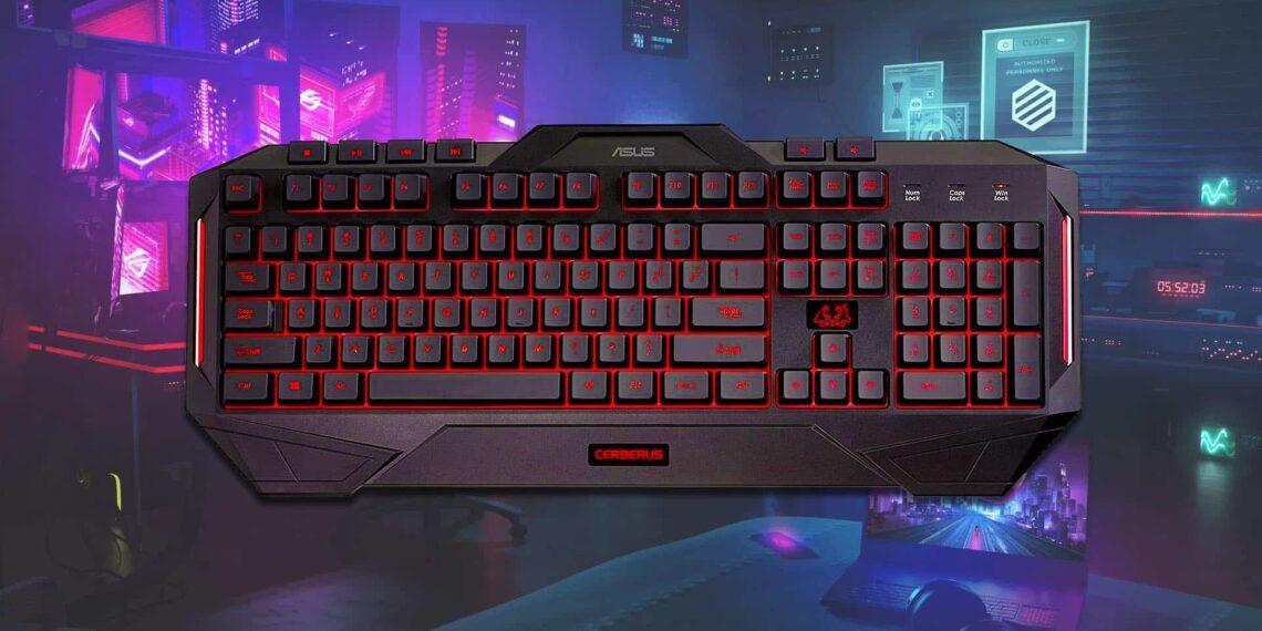 Win An Asus Cerberus LED USB Gaming Keyboard