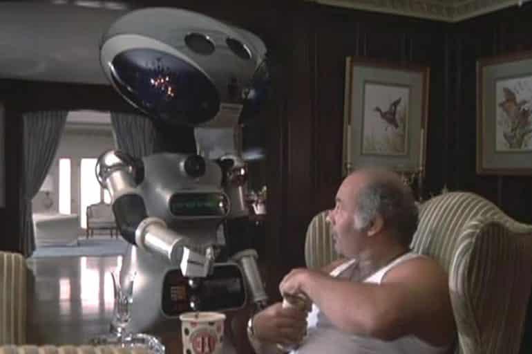 rocky 4 Paulie's robot