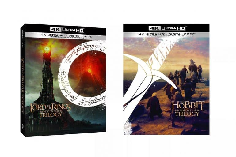 4k Ultra HD The Lord of The Rings Trilogy The Hobbit Trilogy