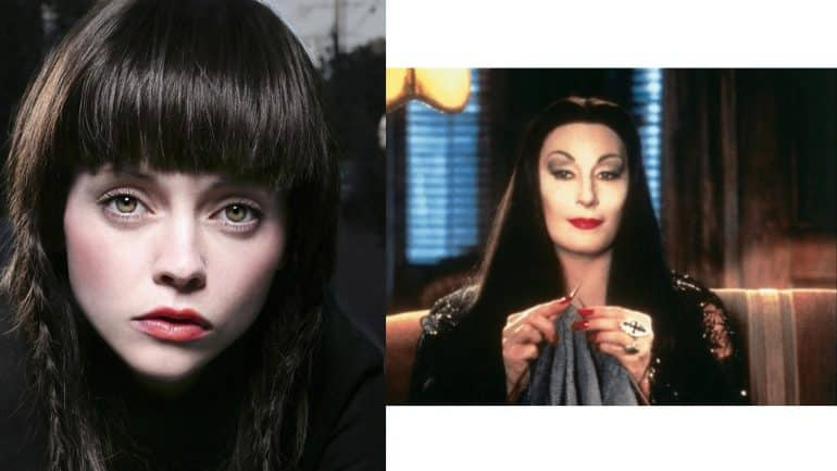 Christina Ricci as Morticia Addams
