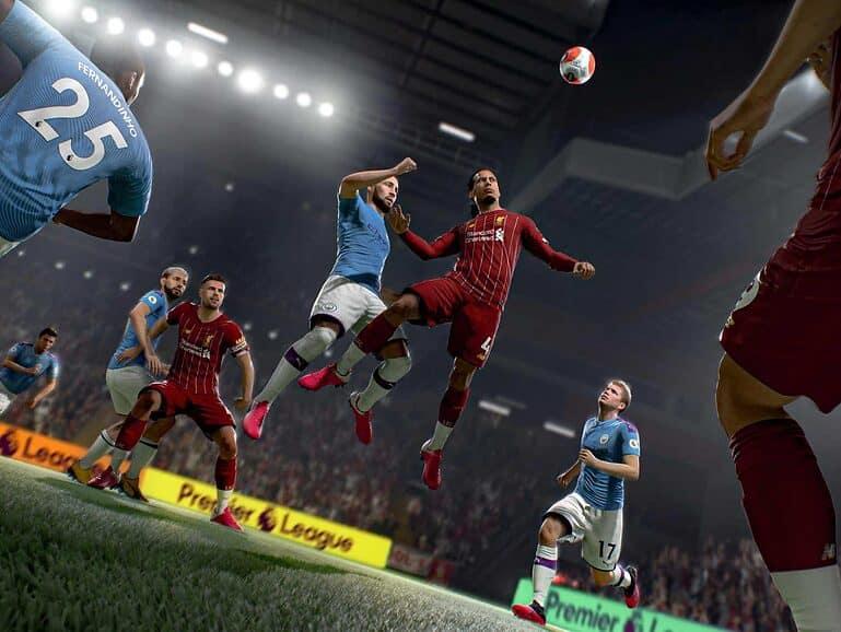 FIFA 21 goals