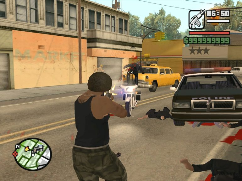 'Grand Theft Auto: San Andreas' was the best selling game on PS2.