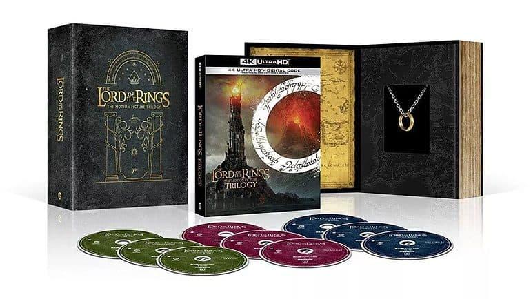 LOTR 4K Blu-ray The Hobbit