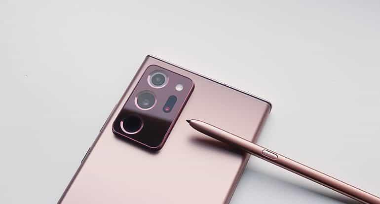 Samsung galaxy note 20 ultra phone