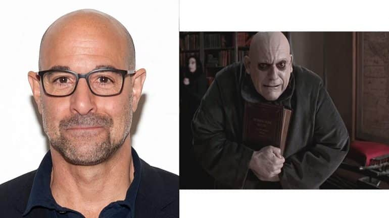 Stanley Tucci as Uncle Fester The Addams Family TV