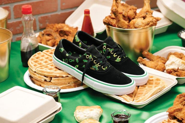 The Vans Shake Junt Collection of Shoes