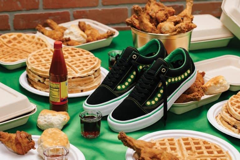 The Vans Shake Junt Collection Sneakers