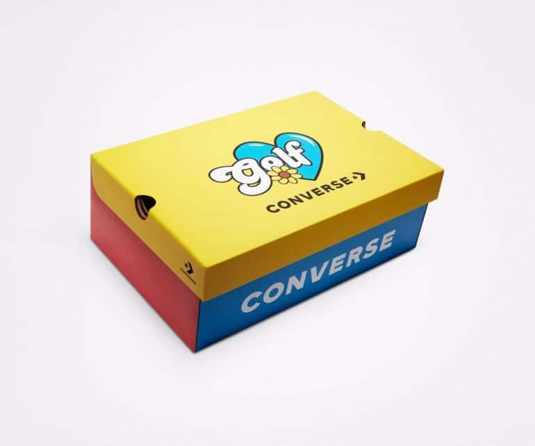 Converse and Tyler, The Creator Drop Converse x GOLF WANG Chuck 70