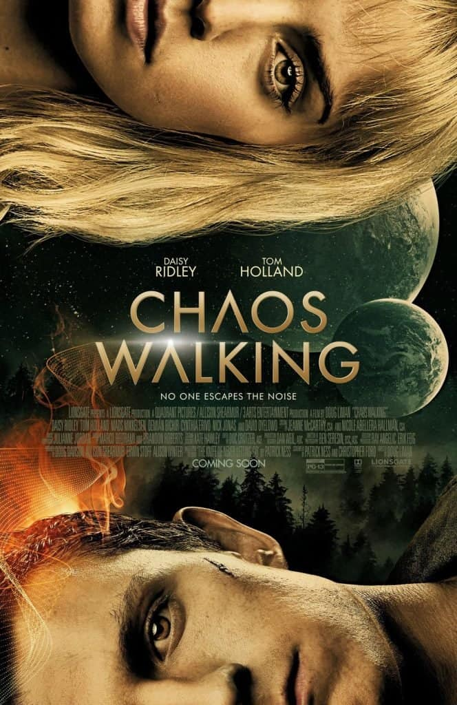 Chaos Walking - Tom Holland and Daisy Ridley