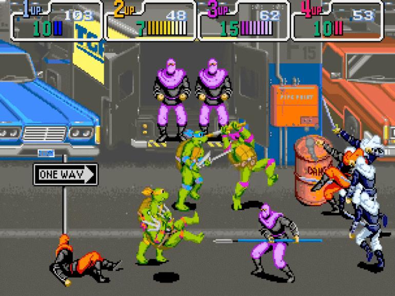 Give Us Another Teenage Mutant Ninja Turtle Arcade Game, You Cowards