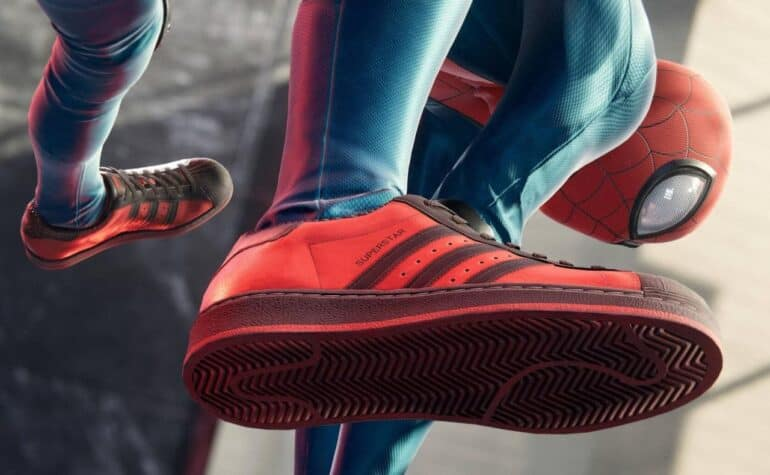 adidas and Sony Collab on Marvel's Spider-Man: Miles Morales Superstar