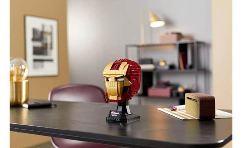 LEGO 76165 Marvel Iron Man Helmet Review