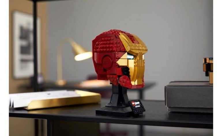 LEGO Marvel Avengers Iron Man Helmet