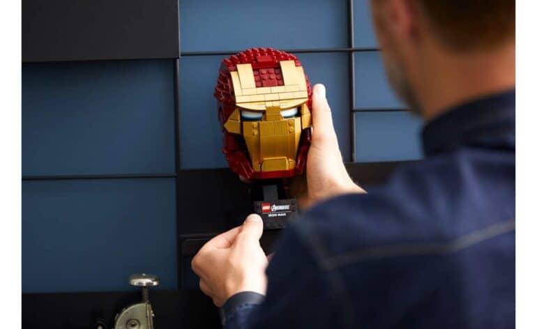 Marvel LEGO Iron Man Helmet