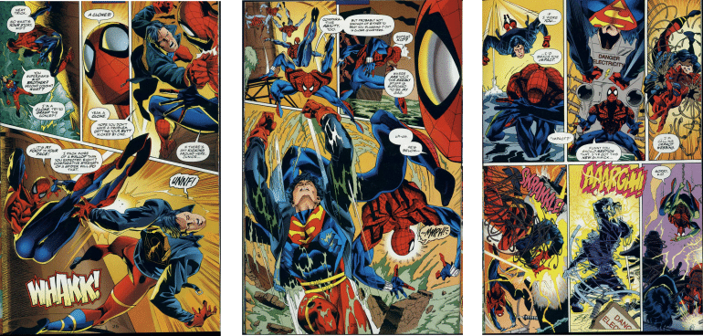 Marvel versus DC Comics Marvel vs DC comic books