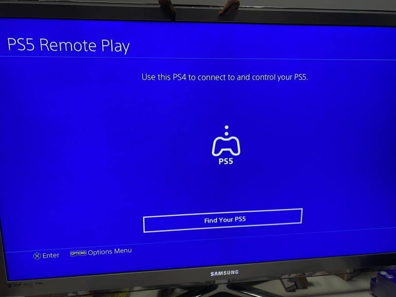PlayStation 5 Remote Play PS4