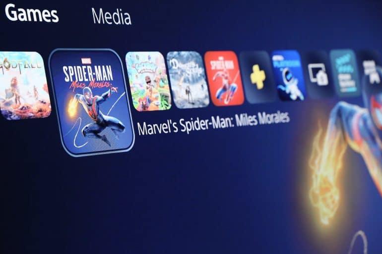 PlayStation UI Games