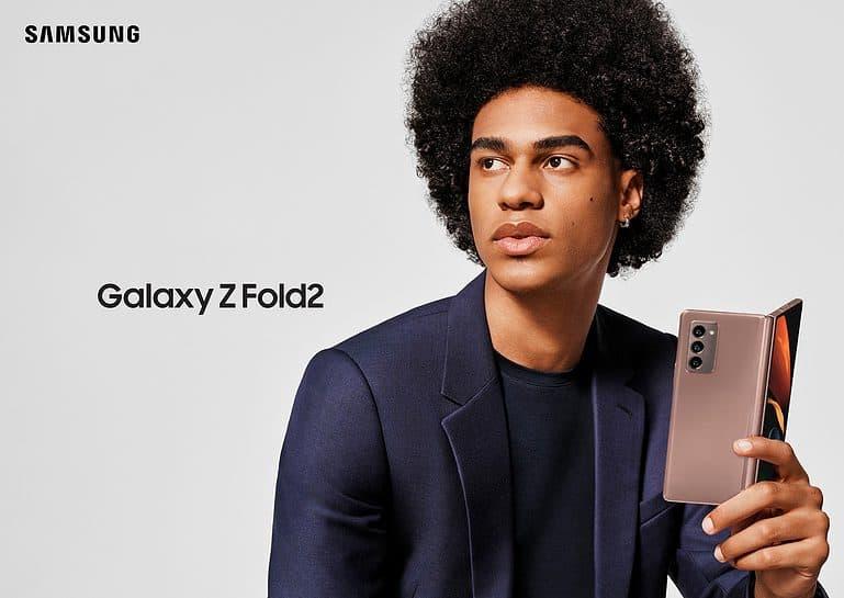 Samsung Galaxy Z Fold 2 Phone