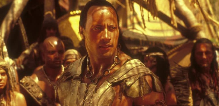 Scorpion King Dwayne The Rock Johnson