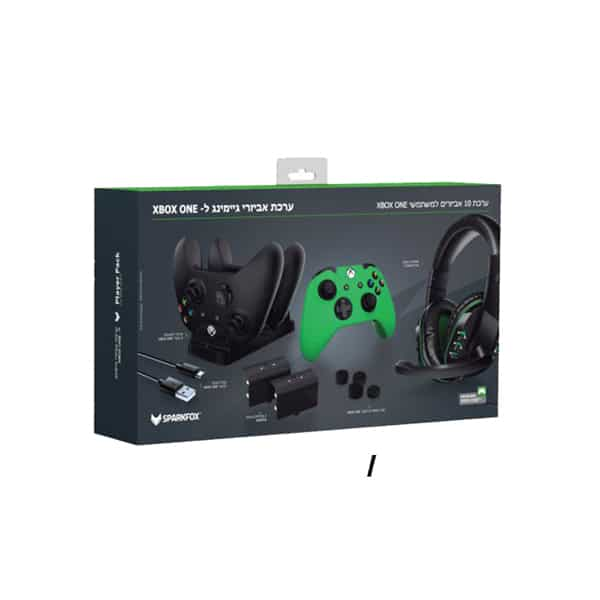 Sparkfox Xbox One Player Pack 6 in 1 Gaming Bundle