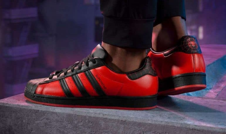adidas and Sony Collab on Marvels Spider-Man: Miles Morales Superstar