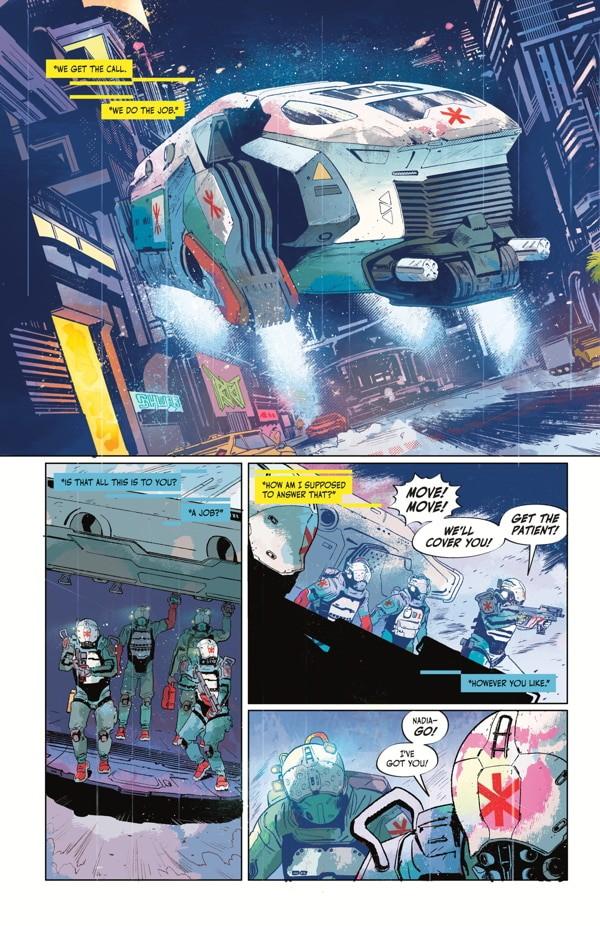 Cyberpunk 2077: Trauma Team Review