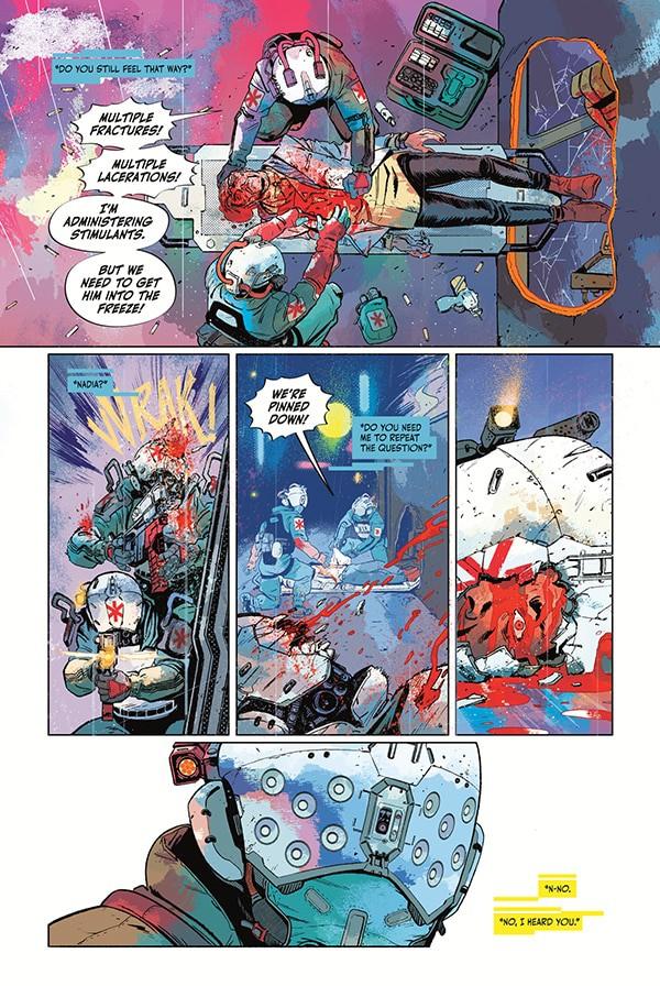 Cyberpunk 2077: Trauma Team Comic Book