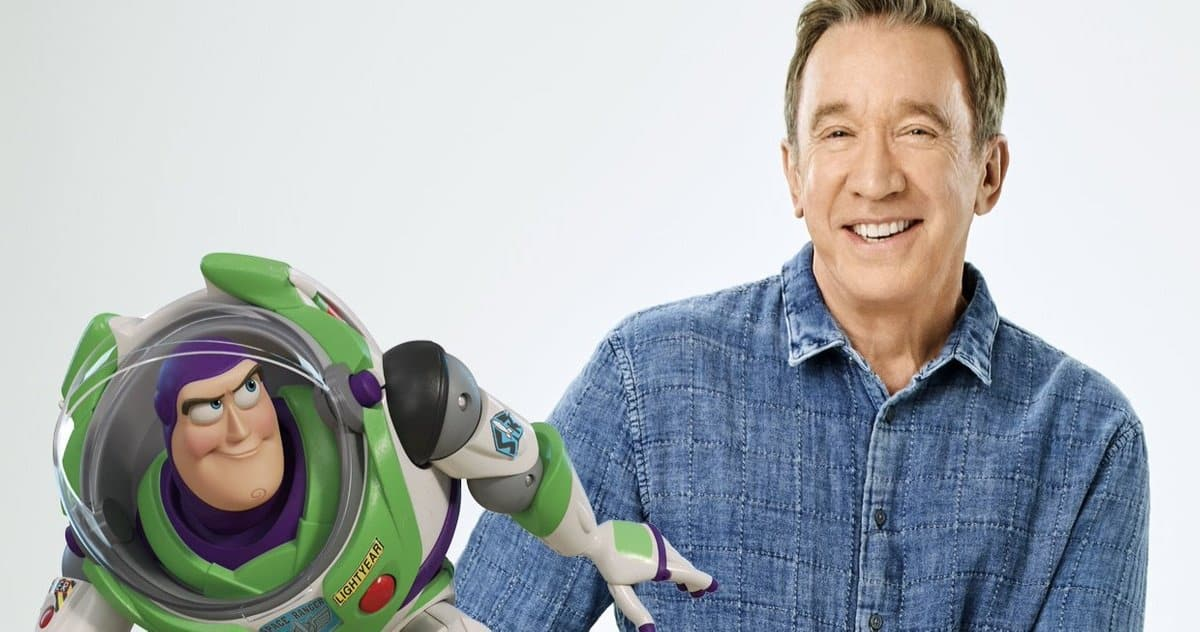 Tim Allen voiced Buzz Lightyear in the Toy Story franchise