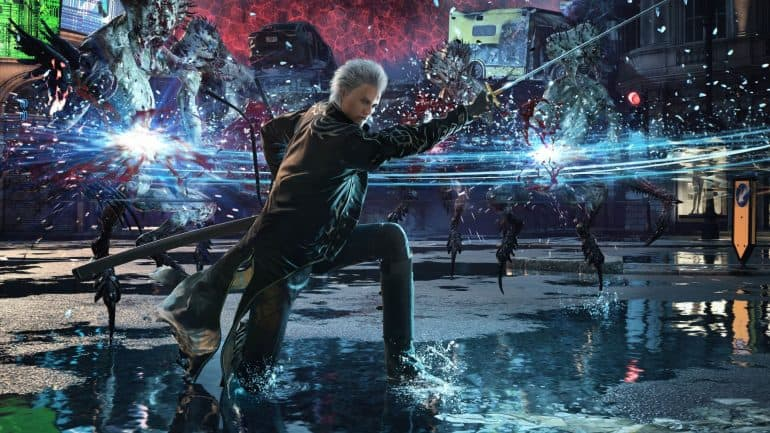 Vergil in Devil May Cry 5 Special Edition