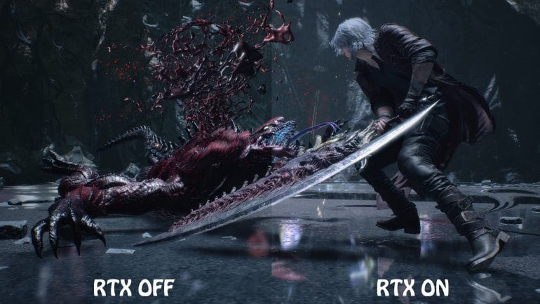 Devil May Cry 5 Special Edition PlayStation Ray Tracing