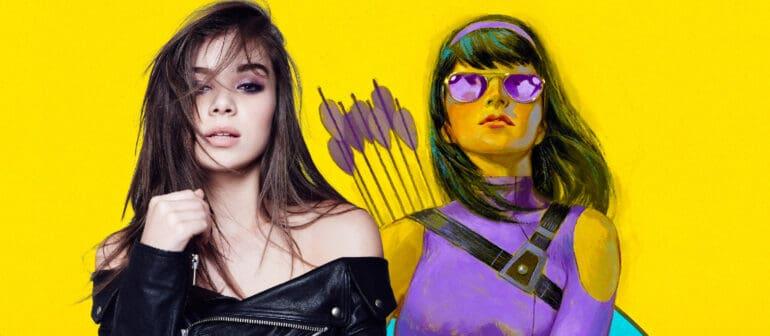 Hailee Steinfeld Kate Bishop Marvel Hawkeye Series