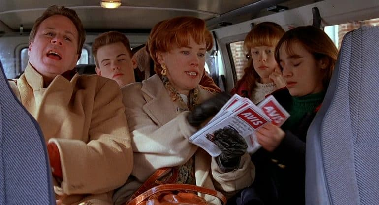 McCallister family in Home Alone 2
