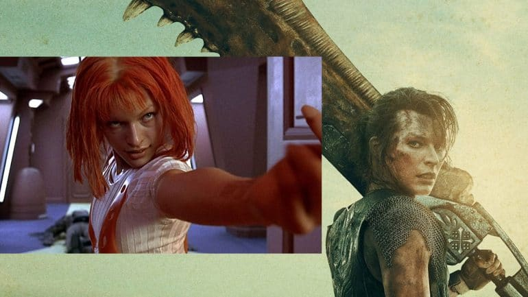 Milla Jovovich The Fifth Element Sequel